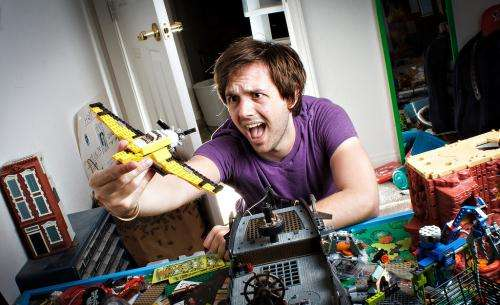 'Digital play' is here to stay ... but don't let go of real Lego yet