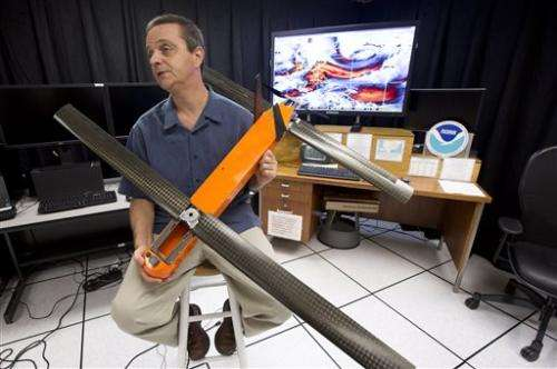 Scientists to drop research drones into hurricanes