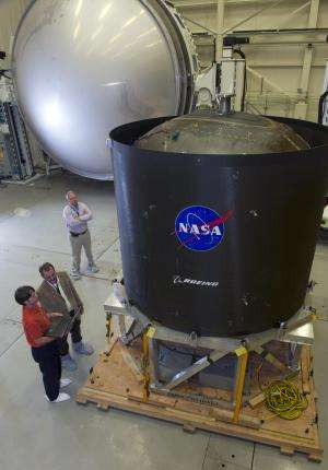 NASA 'Game-changing' space propellant tank to stay grounded for now