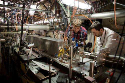Researchers hit milestone in accelerating particles with plasma