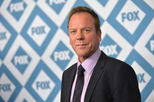 Actor Kiefer Sutherland arrives to the 2014 Fox All-Star Party at the Langham Hotel on January 13, 2014 in Pasadena, California