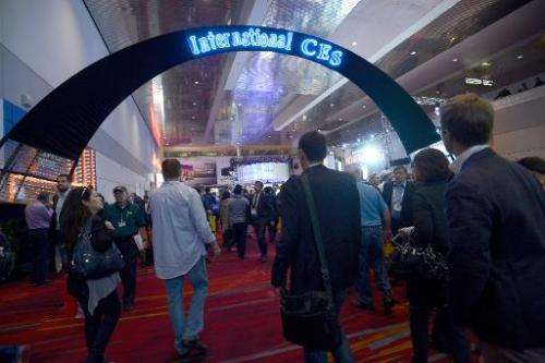 A general view of the 2014 International CES at the Las Vegas Convention Center on January 7, 2014 in Las Vegas, Nevada