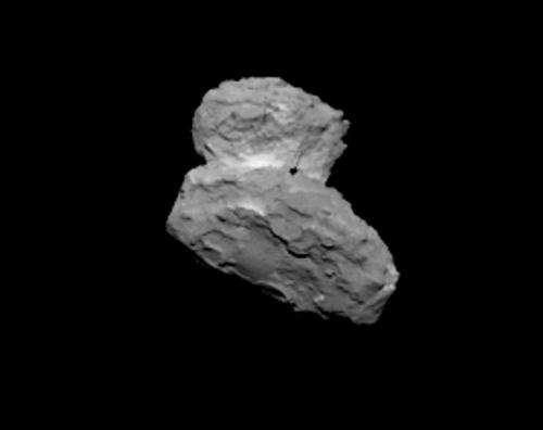 Amazing new photo of Rosetta comet