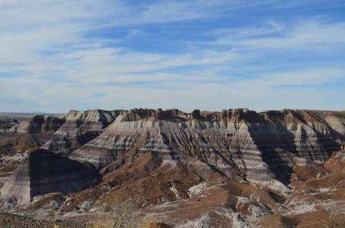 Amid a fossil bonanza, drilling deep into pre-dinosaurian rocks