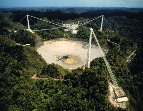 Arecibo Observatory undergoing emergency repairs after earthquake causes damage