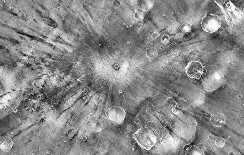 ASU, USGS project yields sharpest map of Mars' surface properties
