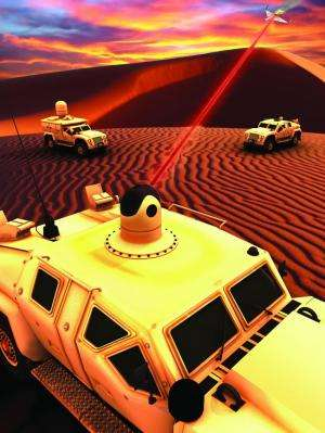 Bad news for the bad guys: Laser weapon being readied for marine vehicles