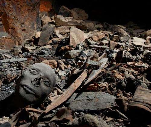 Basel Egyptologists identify tomb of royal children