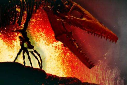 Before an asteroid wiped out the dinosaurs, Earth experienced a short burst of intense volcanism