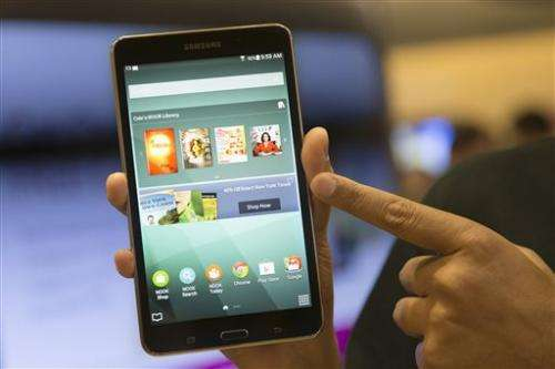 B&N and Samsung introduce co-branded tablet