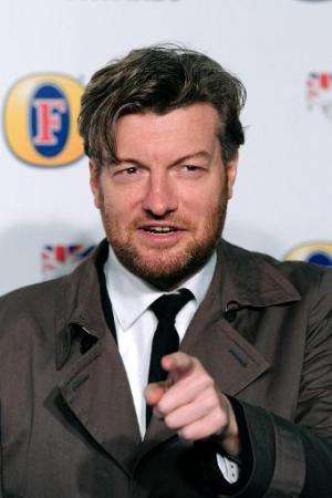 British journalist, comic writer and broadcaster Charlie Brooker attends the British Comedy Awards in London on December 16, 201