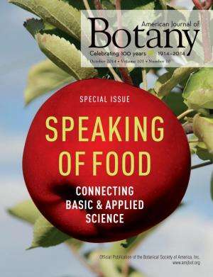 Building a bridge from basic botany to applied agriculture