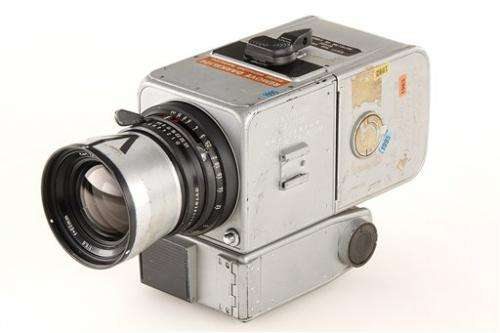 Camera used on moon landing sold for $758,489
