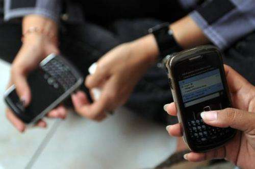 "Canadian smartphone maker BlackBerry announced the release of new ""enhanced security"" for its popular BBM messaging, a"