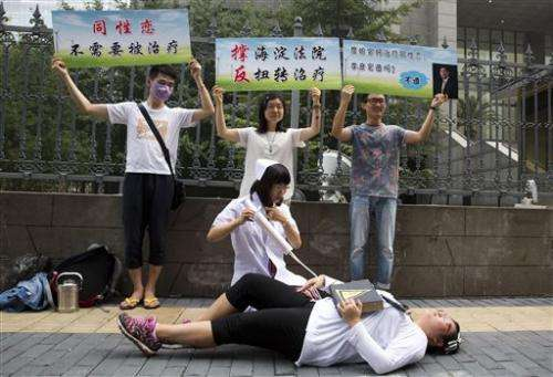 Chinese man brings gay conversion therapy lawsuit