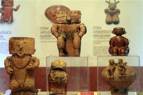 Colombia recovers archaeological gems from Spain