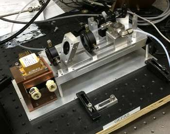 Compact device has sensitive nose for greenhouse gases