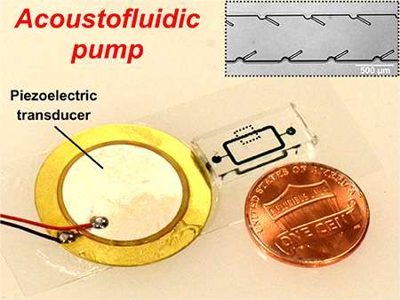 Cost-effective, high-performance micropumps for lab-on-a-chip disease diagnosis