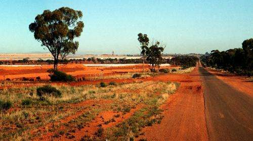 Countless 'buried islands' result of ancient shoreline near Kalgoorlie