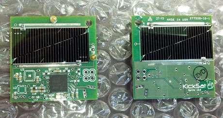 Cracker-sized satellites launch into orbit