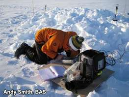 Custom-designed radar measures Antarctic ice with millimetre accuracy
