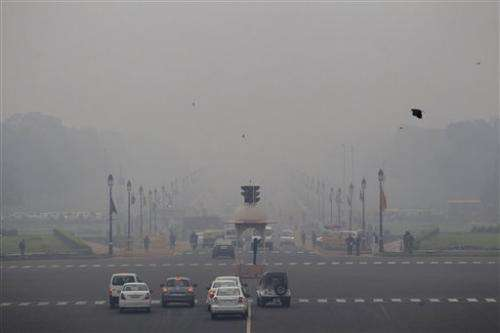 Delhi, Beijing both polluted, but who's on the up?