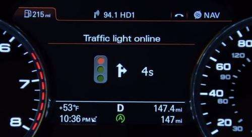 Audi shows TLA solution to make those green lights (w/ Video)