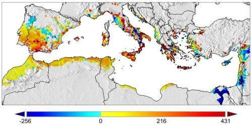 Study suggests global warming may be a boon to Mediterranean Basin olive growers