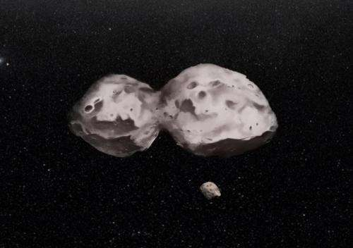 Distant asteroid revealed to be a complex mini geological world
