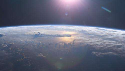 Earth's breathable atmosphere tied to plate tectonics?