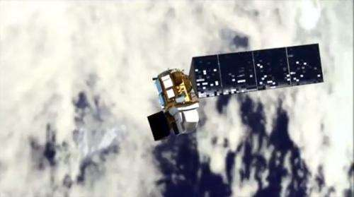 Landsat looks to the moon