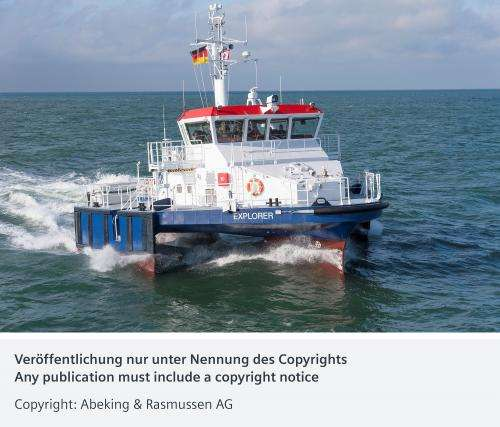 Electric pilot boat is environmentally friendly and safe