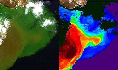 El Hierro Volcano helps to improve algorithms used by satellites