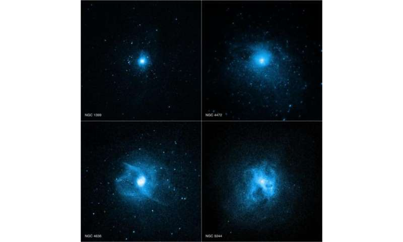 Elliptical galaxies: Chandra helps explain 'red and dead galaxies'