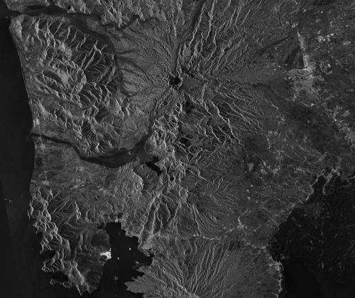ESA image: Mount Pinatubo, Philippines