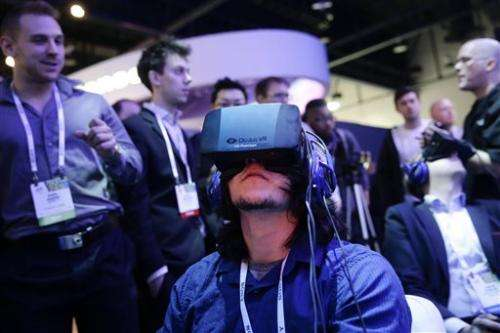 Facebook buys virtual reality co. Oculus for $2B