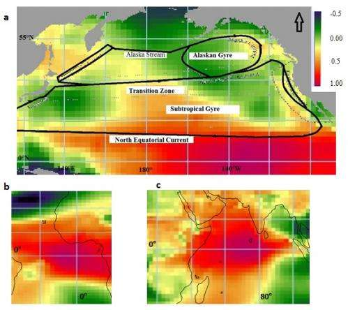 Famine in the Horn of Africa (1984) was caused by El Niño and currents in the Indian Ocean