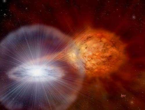 Fermi satellite detects gamma-rays from exploding novae