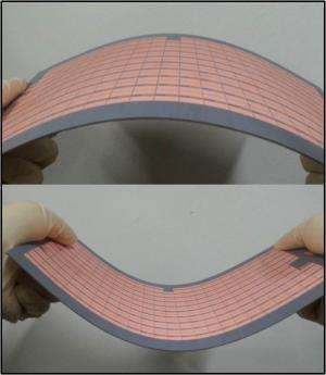 Flexible metamaterial absorbers designed to suppress electromagnetic radiation
