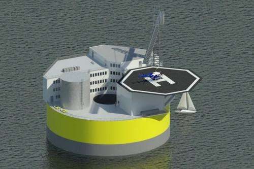 Floating nuclear plants could ride out tsunamis