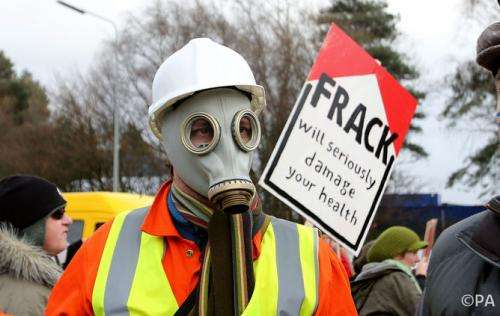 Fracking health risks must be established now, before the industry grows