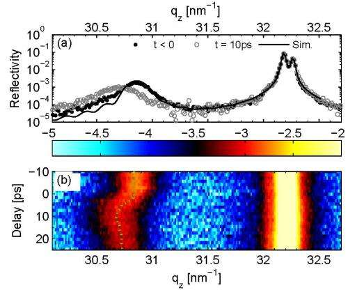 Generating ultrafast inhomogeneous strain in room-temperature multiferroics