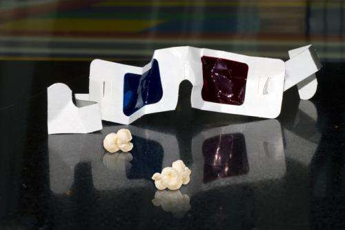 Glasses-free 3-D projector