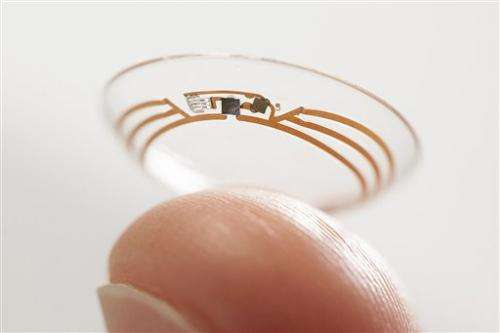 Google contact lens could be option for diabetics