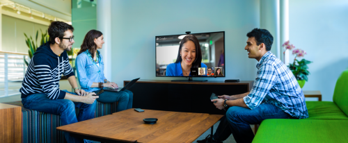 Google unveils box for business videoconferences