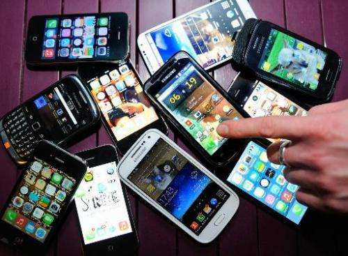 Growth in global smartphone sales is slowing, pressuring manufacturers to bring down prices to win customers in new markets, a r