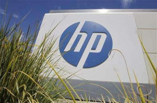 Hewlett-Packard 1Q earnings, revenue top views