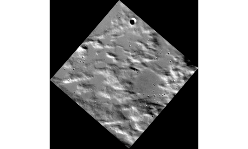 High-resolution image of Mercury acquired