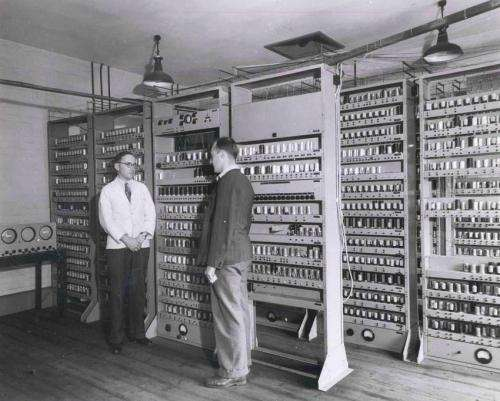 Historic EDSAC circuit diagrams rescued from pile for trash
