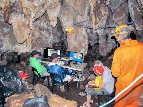 Hominid-fossil seeker revisits South Africa